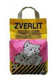 ZVERLIT fialový super jemná s vůní Podestýlka kočka 6kg