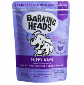 Barking Heads Puppy Days - kapsička pro štěňata 300g