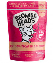 Meowing Heads So-Fish-Ticated Salmon - kapsička pro kočky 100g