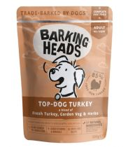 Barking Heads Top Dog Turkey - kapsička pro psy 300g