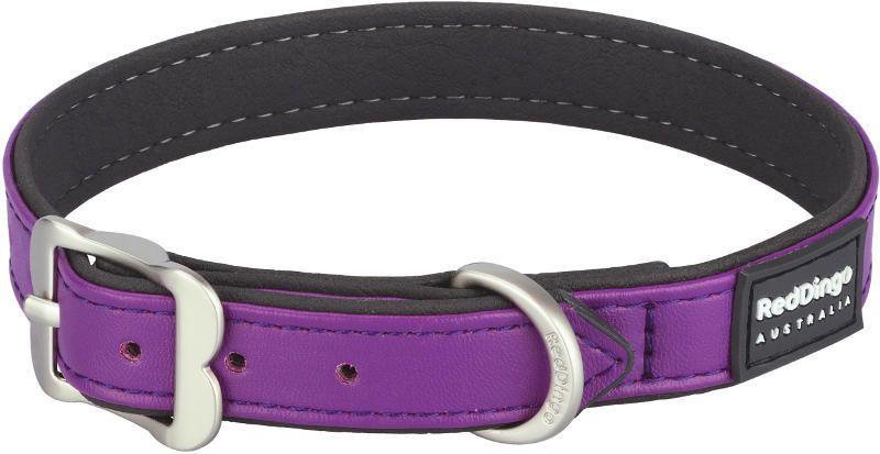 Obojek Red Dingo Elegant 25 mm x 40-50 cm - fialová