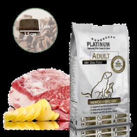 Platinum Natural Adult Iberico&Greens - Kančí se zeleninou 5kg