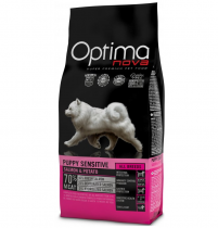 OPTIMAnova dog PUPPY SENSITIVE GRAIN FREE Salmon 2x12kg