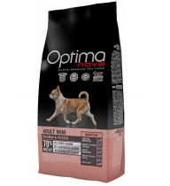 OPTIMAnova dog ADULT MINI SENSITIVE GRAIN FREE Salmon 8kg