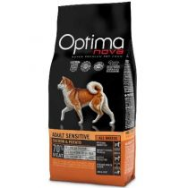 OPTIMAnova dog ADULT SENSITIVE GRAIN FREE Salmon 2x12kg