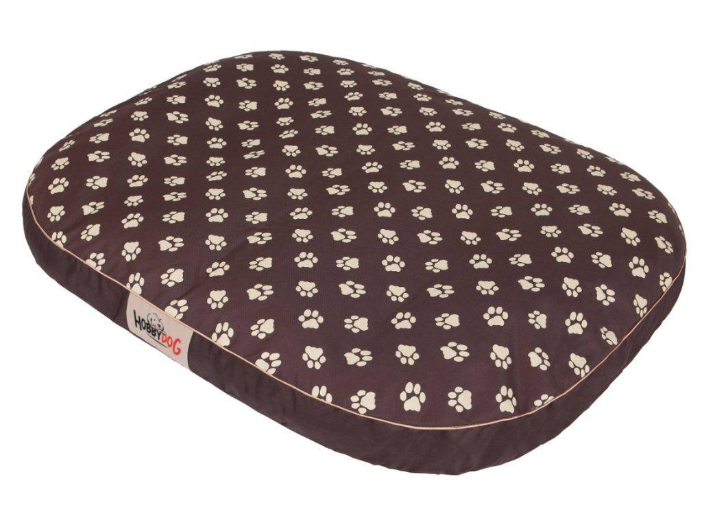 Matrace pro psa Ovál - hnědá packy