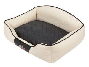 Pelíšek pro psa Elite - béžový a černá matrace