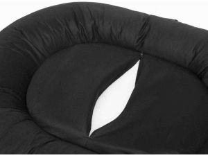 Ponton oválný Comfort - šedý