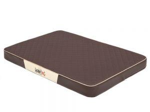 Ortopedická matrace pro psa Premium - hnědá
