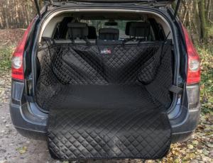 Ochranný potah kufru do auta - černý, max. rozměr 110 x 100 cm