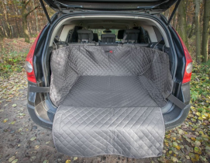 Ochranný potah kufru do auta - šedý