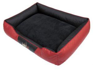 Pelíšek pro psa Cesar Exclusive - černý s červenou