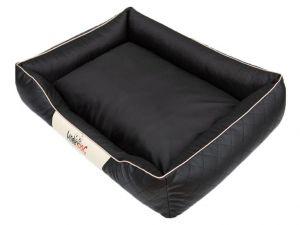 Pelíšek pro psa Cesar Perfect - černý a béžový lem