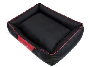 Pelíšek pro psa Cesar Perfect - černý a červený lem