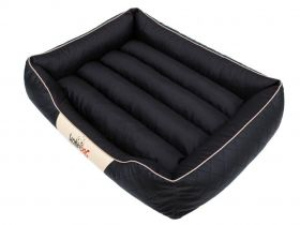 Pelíšek pro psa Cesar Standard - černý a béžový lem