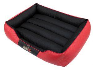 Pelíšek pro psa Cesar Standard - černý s červenou