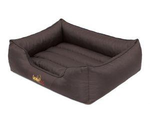 Pelíšek pro psa Comfort - tmavě hnědý