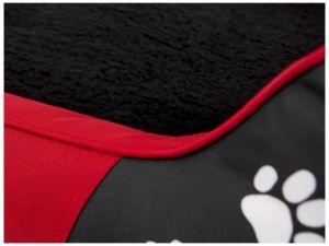 Pelíšek pro psa Royal Exclusive - červená koruna