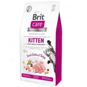 Brit Care Cat Grain-Free Kitten Healthy Growth & Development 7 kg