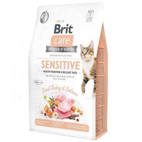 Brit Care Cat Grain-Free Sensi. Heal. Digestion & Delicate Taste 400 g
