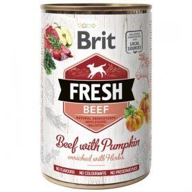 Brit Fresh konzerva Beef with Pumpkin 400g