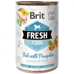 Brit Fresh konzerva Fish with Pumpkin 400g