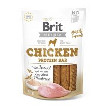 Brit pamlsky Jerky Chicken with Insect Protein Bar 80g