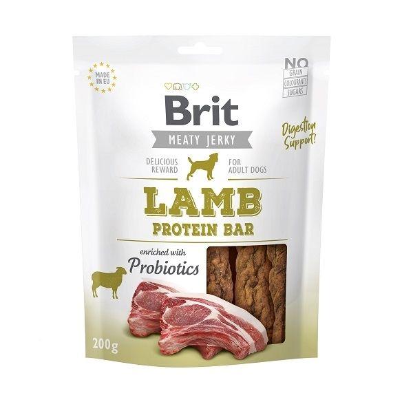 Brit pamlsky Jerky Lamb Protein Bar 200g