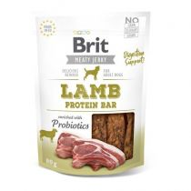 Brit pamlsky Jerky Lamb Protein Bar 80g