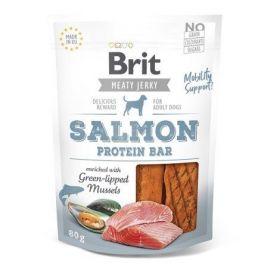 Brit pamlsky Jerky Salmon Protein Bar 80g