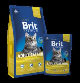 Brit Premium Cat Adult Salmon 300g