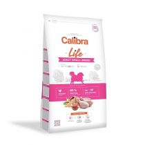 Calibra Dog Life Adult Small Breed Chicken 1,5 kg