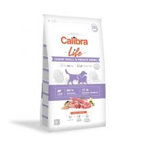 Calibra Dog Life Junior Small & Medium Breed Lamb 2,5 kg