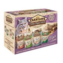 Carnilove Cat kapsičky Pouch Rich in Multipack 12x 85 g