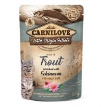 Carnilove Cat Pouch Rich in Trout with Echinacea 85 g