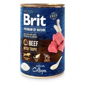 Konzerva Brit Premium by Nature Beef & Tripes 400 g