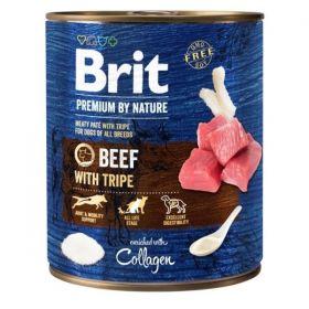 Konzerva Brit Premium by Nature Beef & Tripes 800g