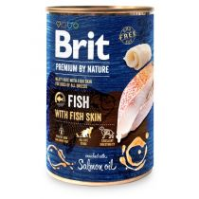 Konzerva Brit Premium by Nature Fish & Fish Skin 800 g