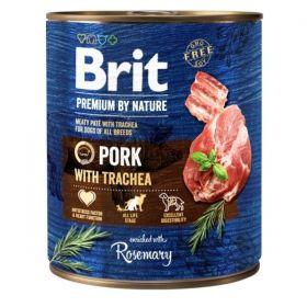 Konzerva Brit Premium by Nature Pork & Trachea 800 g