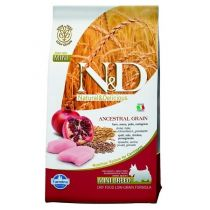 N&D Ancestral Grain Dog Adult Mini Chicken & Pomegranate 7 kg