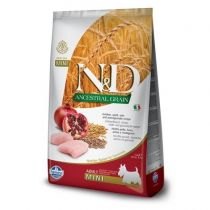 N&D Ancestral Grain Dog Adult Mini Chicken & Pomegranate 2,5 kg