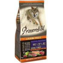 Primordial Dog Mini Adult Trout & Duck 2 kg