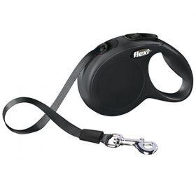 Vodítko Flexi Classic XS pásek 3 m/12 kg černé