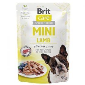 Brit Care Dog kapsička Mini Lamb fillets in gravy 85 g