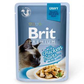 Brit Premium Cat Chicken fillets 85g