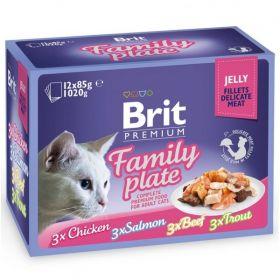 Brit Premium Cat Family plate jelly 12 x 85g