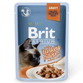 Brit Premium Cat Turkey fillets 85g