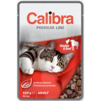 Calibra Cat Premium Adult Chicken & Beef 100g