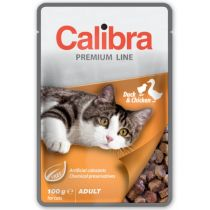 Calibra Cat Premium Adult Duck & Chicken 100g