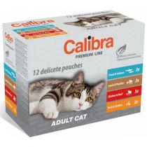 Calibra Cat Premium Adult multipack 12x100g